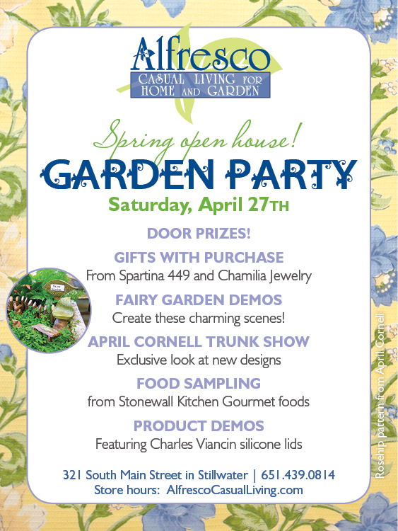 Spring Garden Party Open House
